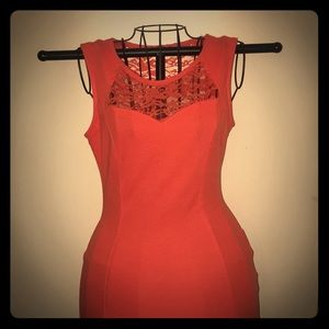 Flirty and Bold Form Fitting Dress